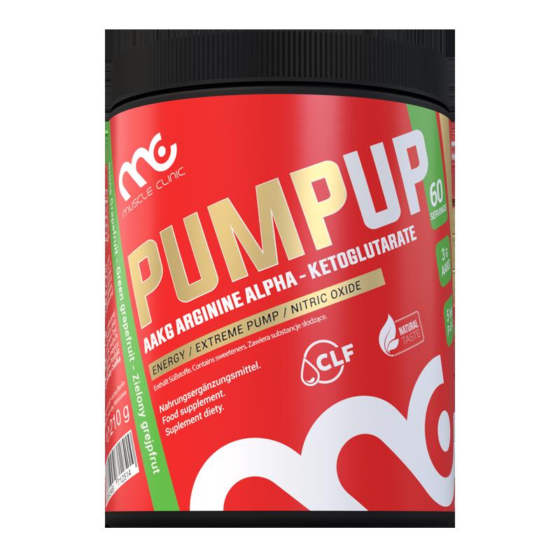 MUSCLE CLINIC PumpUp 210 g Zielony Grejfrut