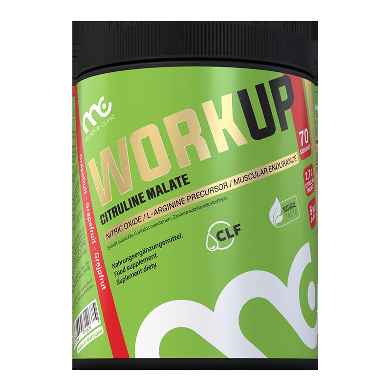 MUSCLE CLINIC WorkUp 210 g Grejfrut