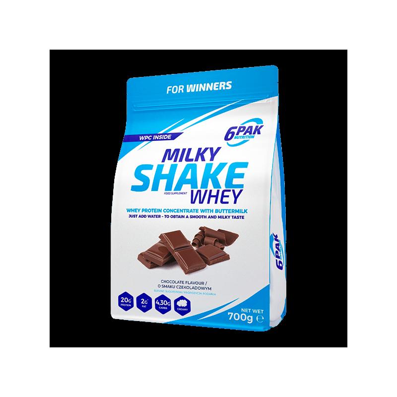 6PAK Milky Shake 700 g Czekolada