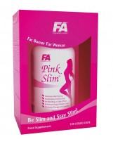 FITNESS AUTHORITY Pink Slim 120 kaps.