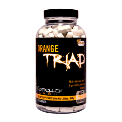 CONTROLLED LABS Orange Triad 270 tablets