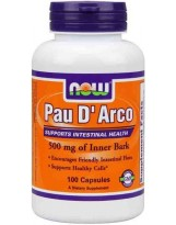 NOW Foods Pau D' Arco 500 mg - 100 kaps.
