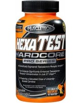 MUSCLETECH Hexatest Hardcore 168 kaps.