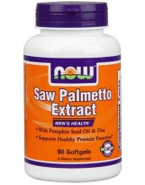 NOW Foods Saw Palmetto 90 kaps.