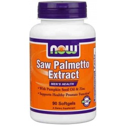 NOW Foods Saw Palmetto Extract 160mg 60 kaps.