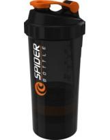 Spider Bottle Maxi Black Shaker 800 ml