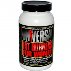 UNIVERSAL Fat Burners For Women 120 tabl.