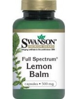 SWANSON Full Spectrum Lemon Balm 60 kaps.