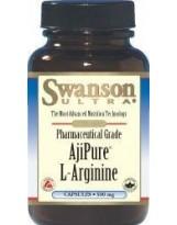 SWANSON AjiPure L-Arginina 60 kaps.