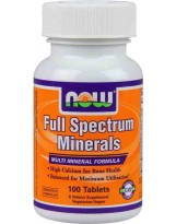 NOW Foods Full Spectrum Minerals 100 tabl.
