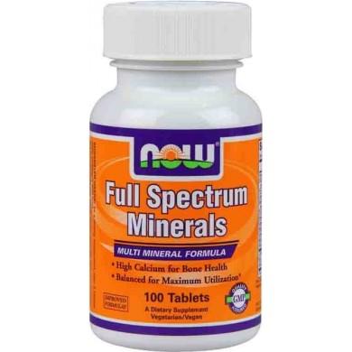 Now Foods Full Spectrum Minerals 100 Tabl Sklep Odżywki