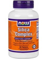 NOW Foods Silica Complex 90 tabl.