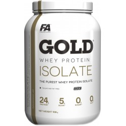 FITNESS AUTHORITY Gold Isolate 908 g Czekolada