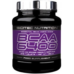 Scitec BCAA 6400 375 tablets