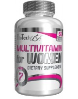 BIOTECH Women Performance (Multivitamin for women) 60 tabl.