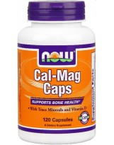 NOW FOODS Cal-Mag D3 120 kaps.