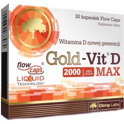 OLIMP Gold Vit D Max 2000IU 30 kaps.