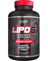 NUTREX Lipo Black 120 kaps.
