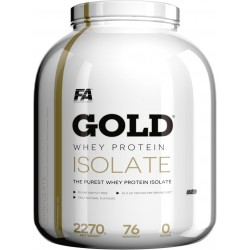 FITNESS AUTHORITY Gold Whey Protein Isolate 2270 g Czekolada