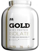 FITNESS AUTHORITY Gold Whey Protein Isolate 2270 g Czekolada