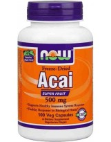 NOW Foods Acai 500 mg 100 kaps.