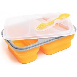 TIROSS Lunch Box Silikonowy 3 komory
