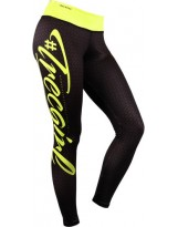 TREC WEAR Womens Leggins Black Yellow 03