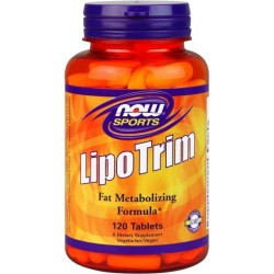 NOW FOODS Lipo Trim 120 tabl.