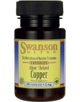 SWANSON Albion Chelat Miedzi 2 mg 60 kaps.