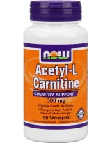 NOW FOODS N-Acetyl L-Carnitine 500 mg 50 kaps.