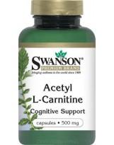 SWANSON ALC Acetyl L-Karnityny 500 mg 100 kaps.