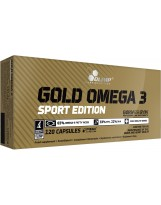 OLIMP Gold Omega 3 120 kaps. SPORT EDITION