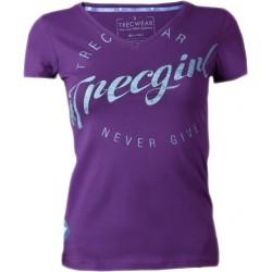 TREC WEAR T-Shirt 001 Girl VIOLET