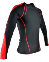 TREC WEAR Rash Promo Black-Red Long