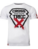 TREC WEAR Koszulka CoolTrec 011 CROSS White