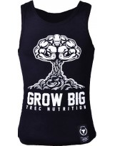 "TREC WEAR Top Tank 003 ""GROW BIG"" BLACK"