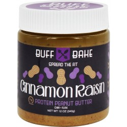 BUFF BAKE Peanut Butter Cinnamon Raisin 368 g