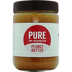 PURE Superfoods Natural Peanut Butter 500 g