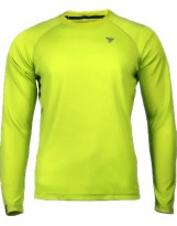 TREC WEAR Koszulka CoolTrec 018 Bright Green Long Sleeve