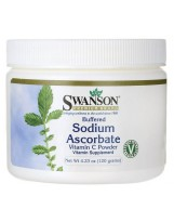 Swanson Buforowany L-askorbian sodu Witamina C 120 g