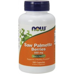 NOW FOODS Saw Palmetto 100 kaps.