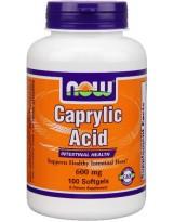NOW FOODS Kwas Kaprylowy 600 mg 100 kaps.
