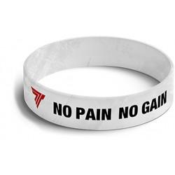 TREC WEAR Opaska 001 No Pain No Gain White