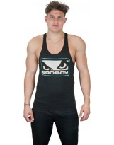 BAD BOY Tank Top Stringer Vest Black/Blue