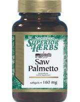 SWANSON Saw Palmetto 160mg 120 kaps.