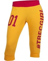TREC WEAR 3/4 Pants Trecgirl 01 Yellow