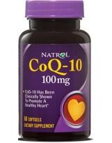 NATROL Koenzym Q10 100 mg 60 kaps.