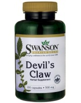 SWANSON Devils Claw 500 mg 100 kaps.