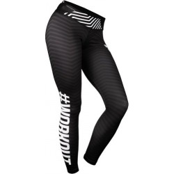 TREC WEAR Womens Leggins 004 Black-White