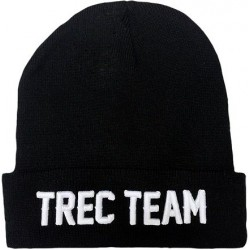 TREC WEAR Czapka Winter Cap Team Black 007